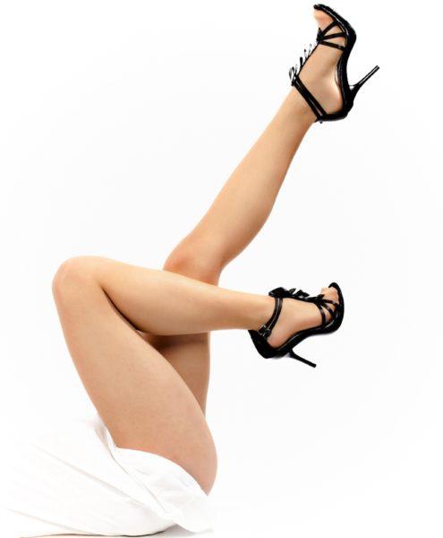 美脚作りには美脚マッサージ。画像は美しい足。