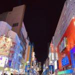 サンシャイン60通りの夜景の画像