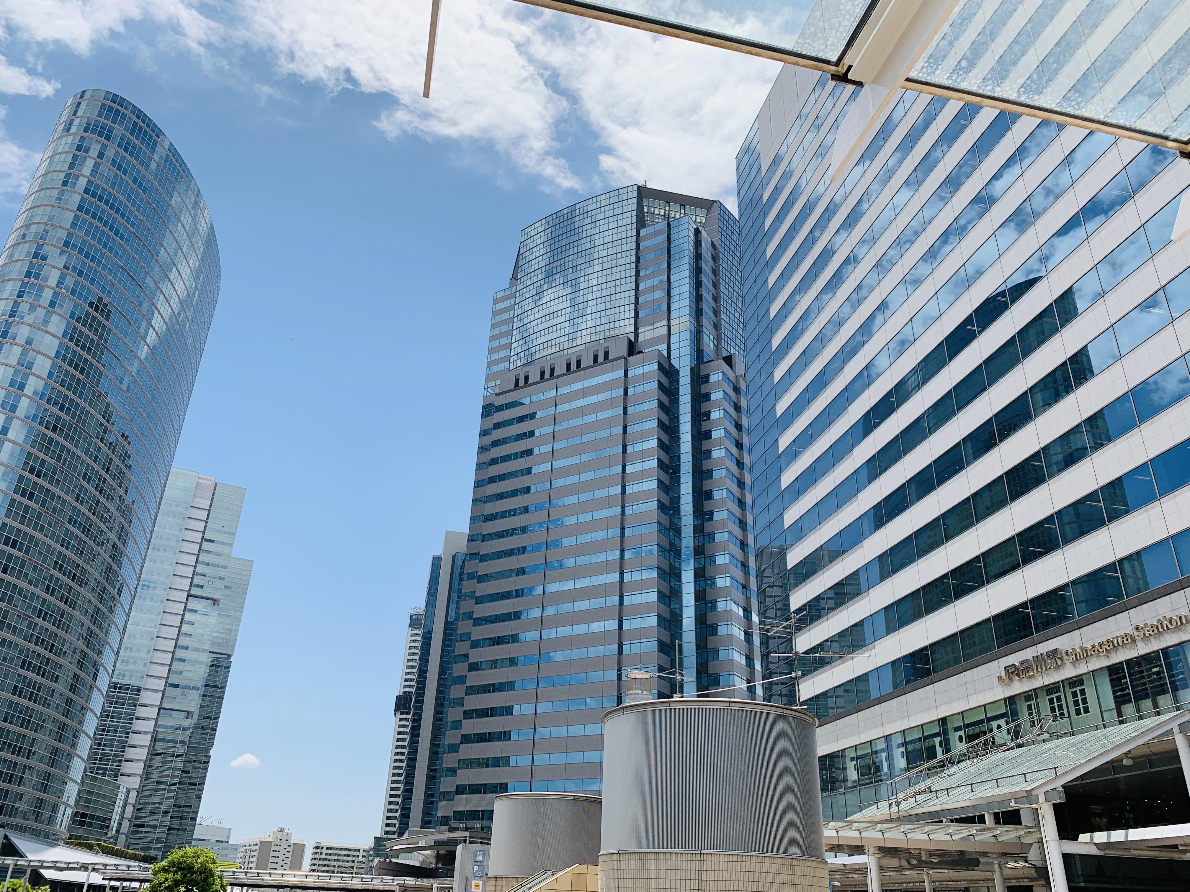 品川駅(港南口)の画像です