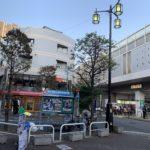 東横線の新丸子駅の画像です。子