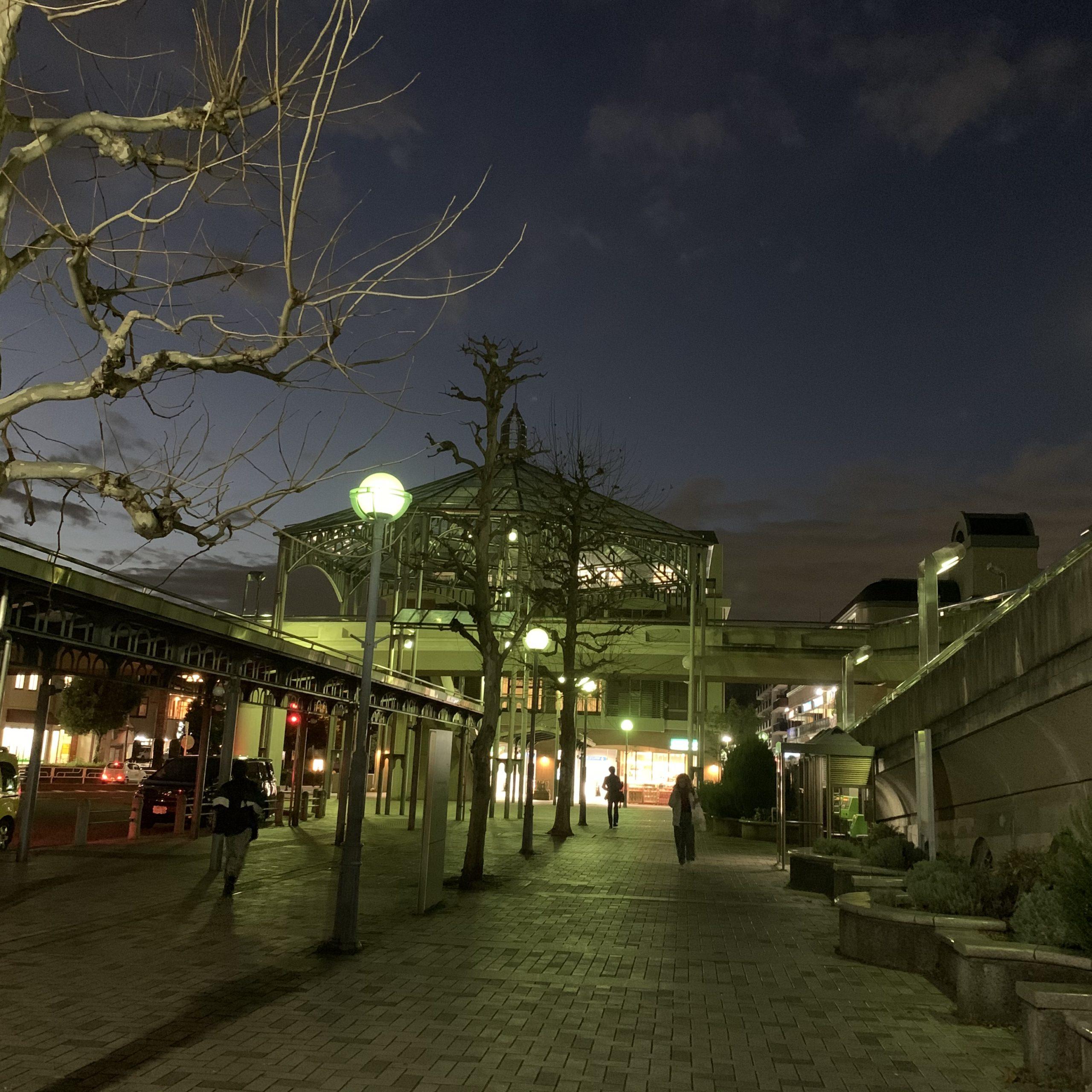 横浜市営地下鉄ブルーライン中川駅