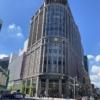 日本橋北詰から眺める三越百貨店