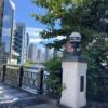 亀島橋から佃リバーシティを遠く望む風景